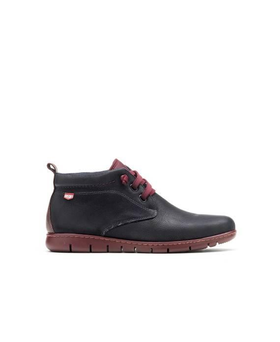Zapatos para hombre en color azul marino Caracteristicas elastico altura de piso 2 cm zapato de estilo casual suela de goma ter
