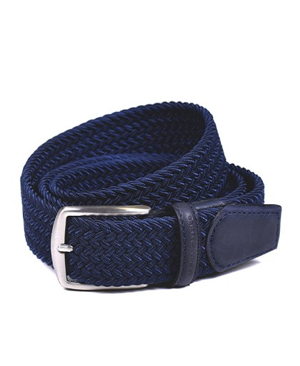 Cinturon para hombre en color azul marino Caracteristicas Not assigned zapato de estilo casual suela exterior elastico e interi