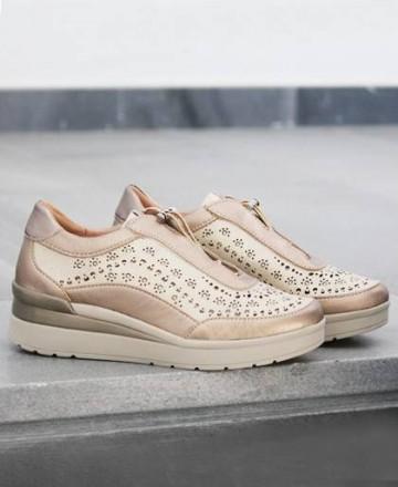 Catchalot Stonefly Cream casual shoe 210813-058-Z00