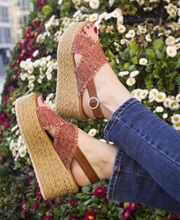 Catchalot Sandals wedge Tambi Lakika