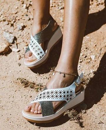 Catchalot Sandals wedge Andares 588877