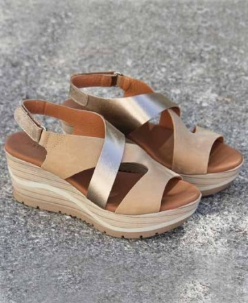 Catchalot Wedge sandals Paula Urban 11-8070