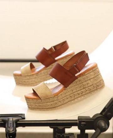 Catchalot Sandals wedge Tambi Klin