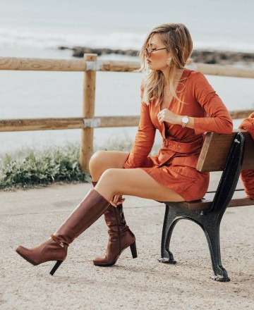 Catchalot Patricia Miller 1014 high boots
