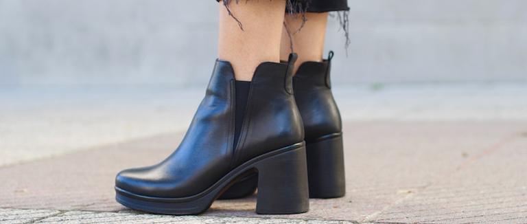 Botines negros bloggera Martina´s Wardrobe
