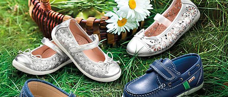 Calzado niños en primavera