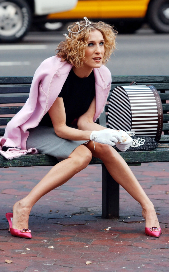 mules mujer carrie bradshaw