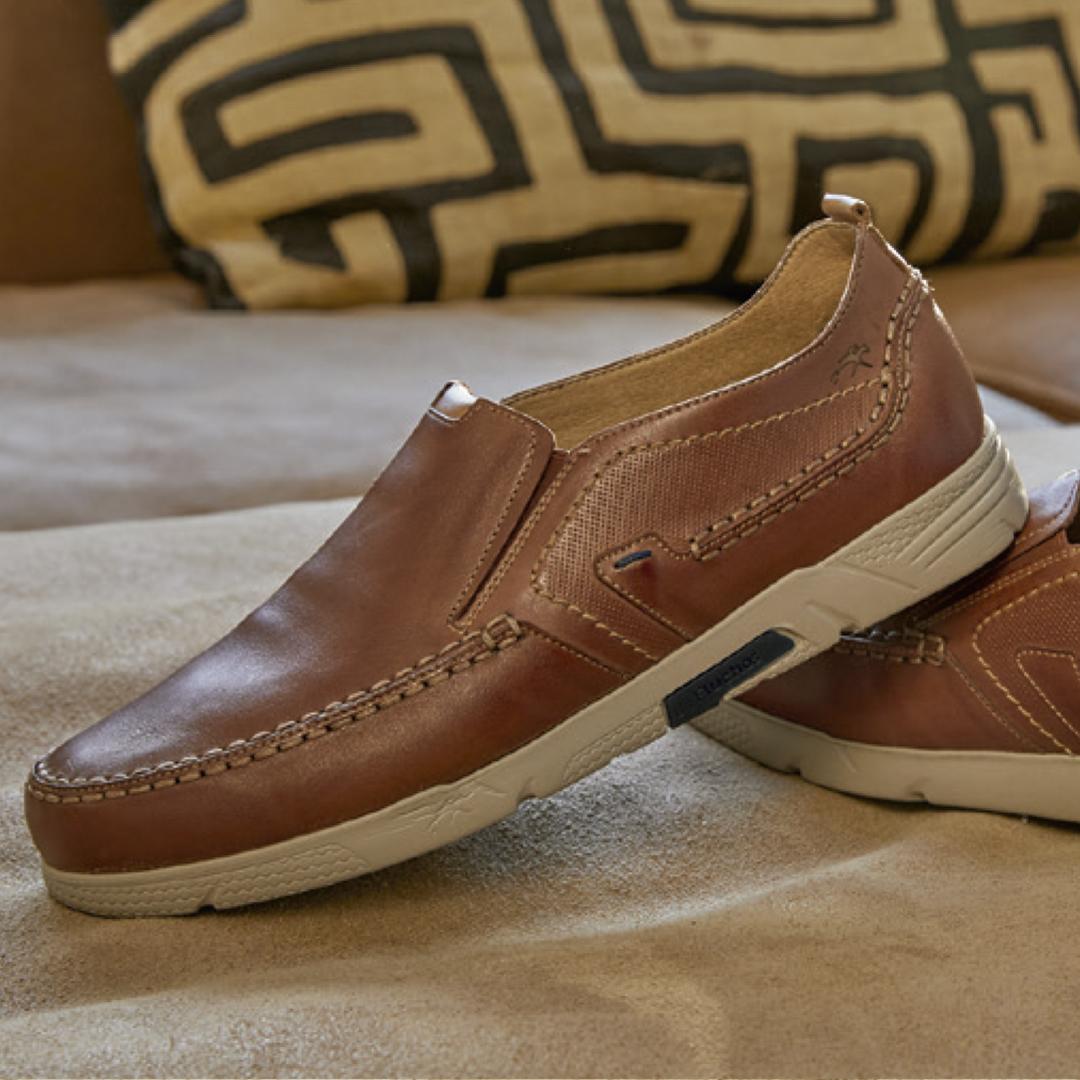 zapatos de vestir hombre Fluchos Choi F0440 habana