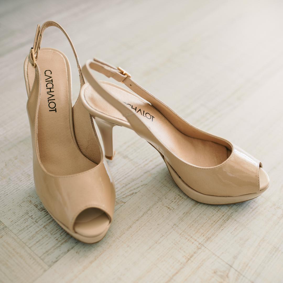 zapatos tacón alto Peep Toes Patricia Miller 1961