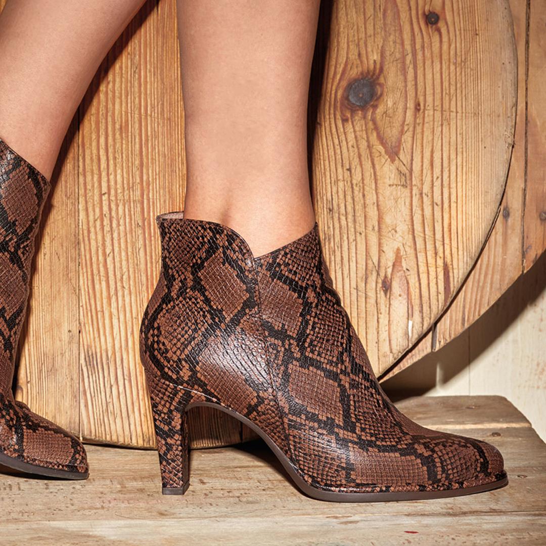 calzado cómodo botines wonders m-4302