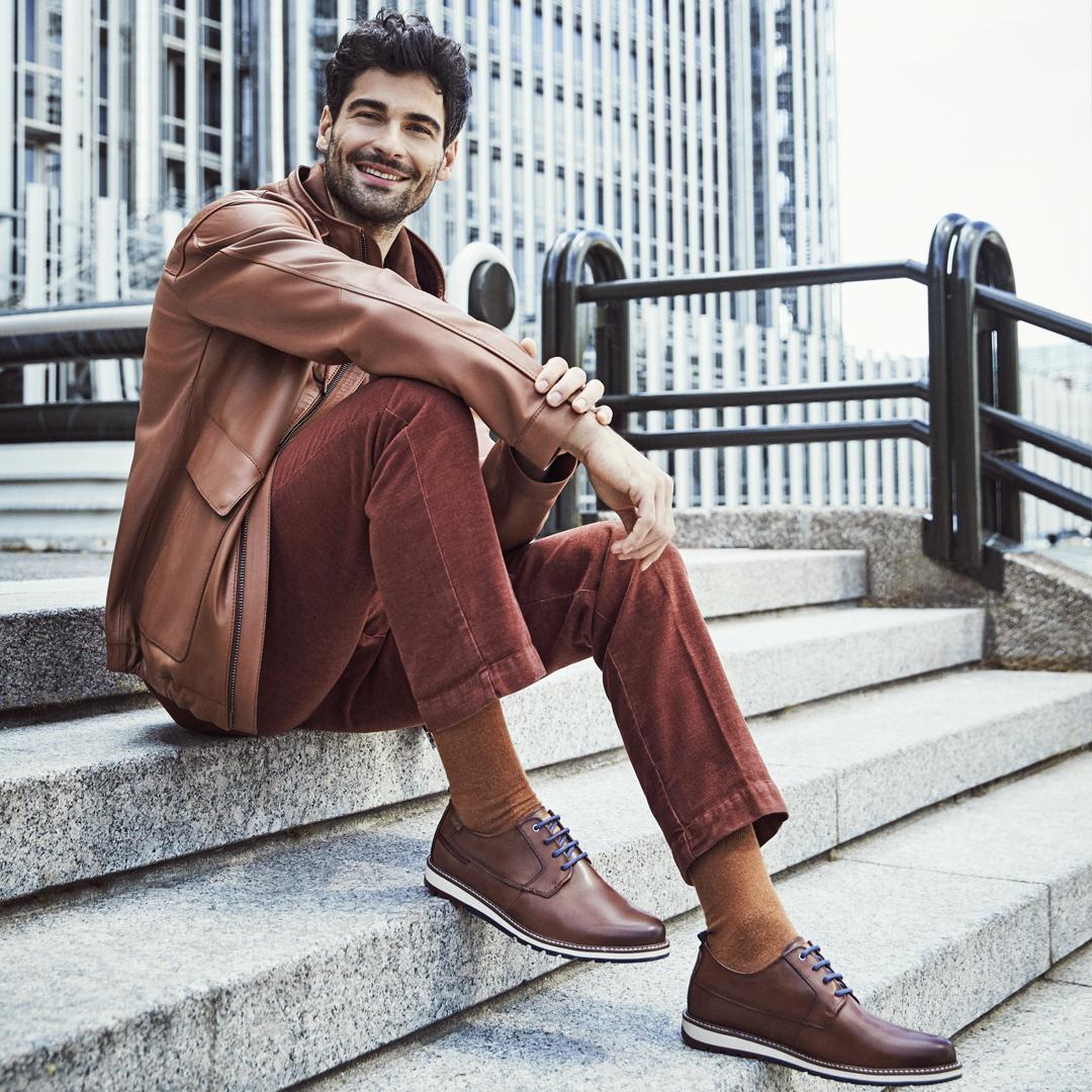zapatos para trabajar hombre Pikolinos m8j-4314 berna