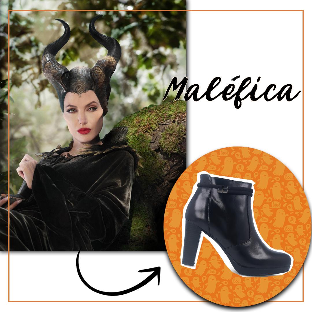 Descuentos zapatos halloween botines de tacón Patricia Miller 1013