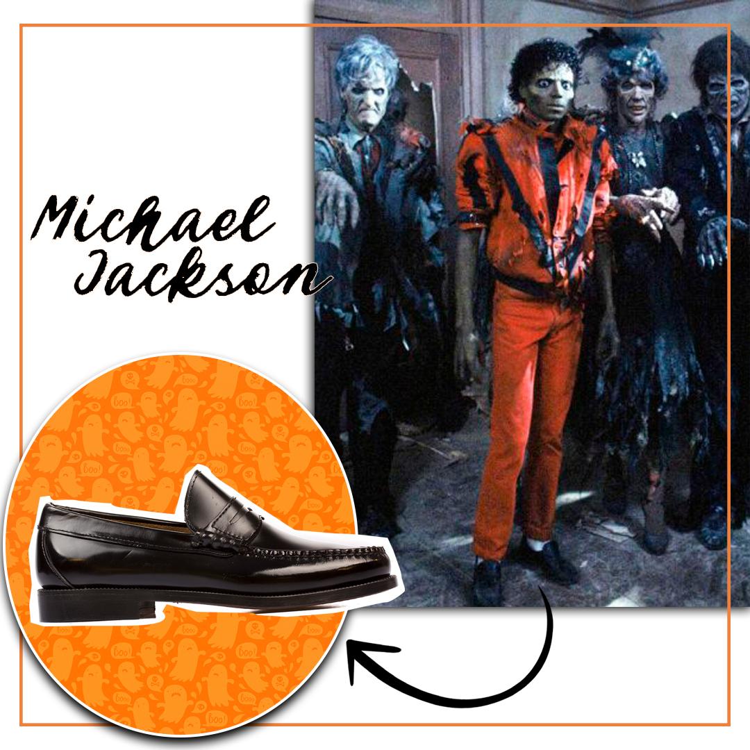 Descuentos zapatos halloween mocasines negros Catchalot s61-N