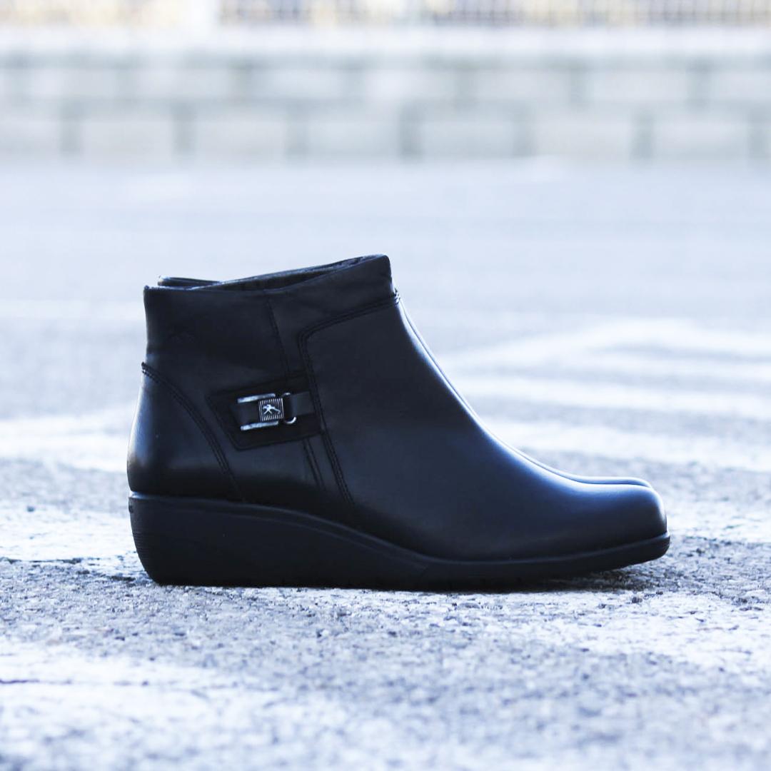 botines negros de mujer Fluchos Lena F0595
