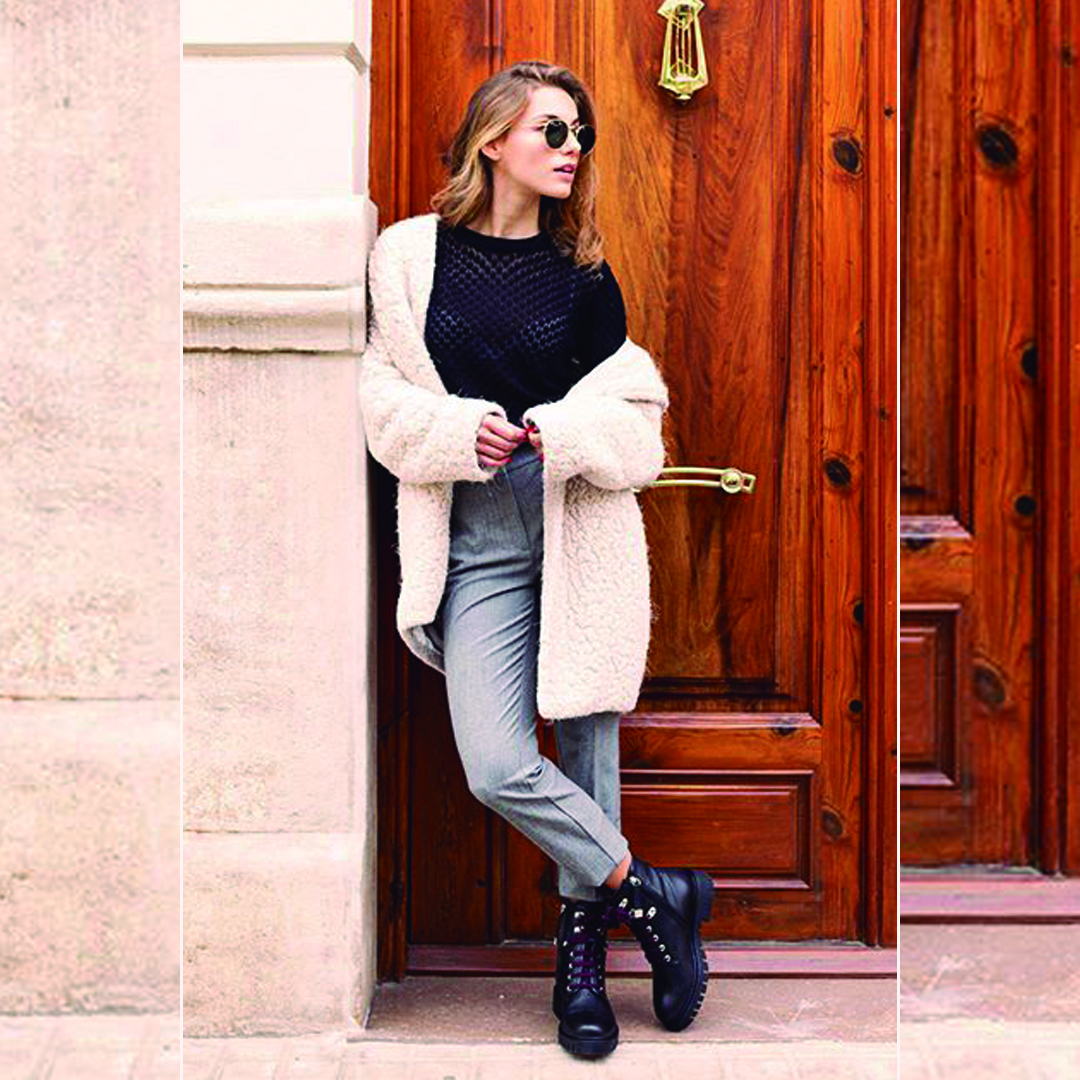 Outfit con combat boots: 10 ideas estilosas para triunfar este invierno