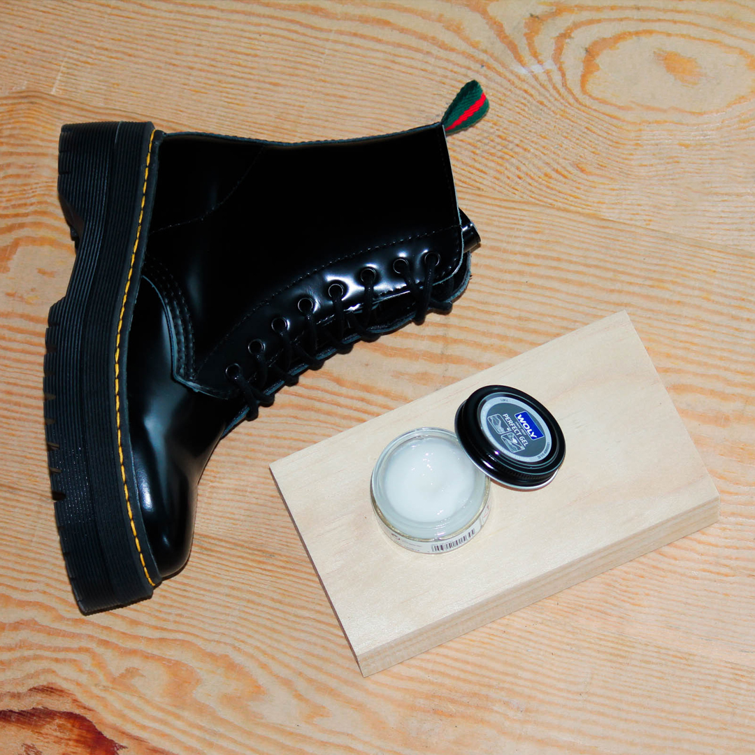 limpieza de botas de piel Alpe Punk 3475