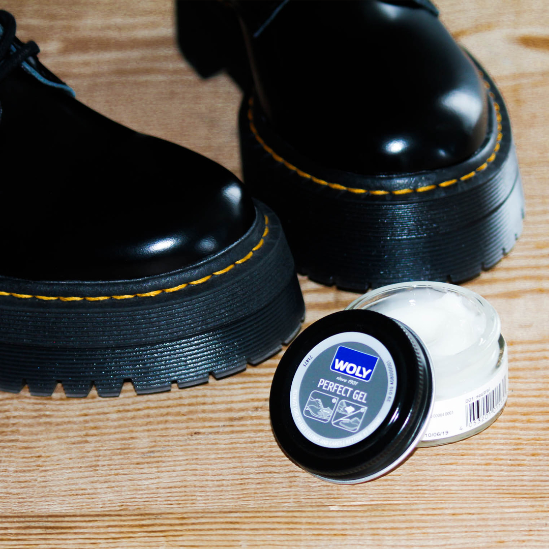 limpieza de botas de piel Perfect Gel Woly