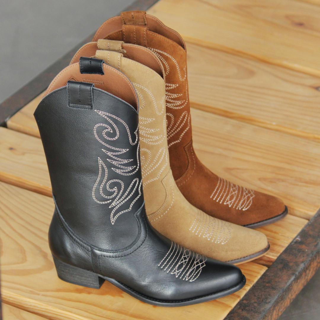 zapatos para mujer botas cowboy bryan jandra