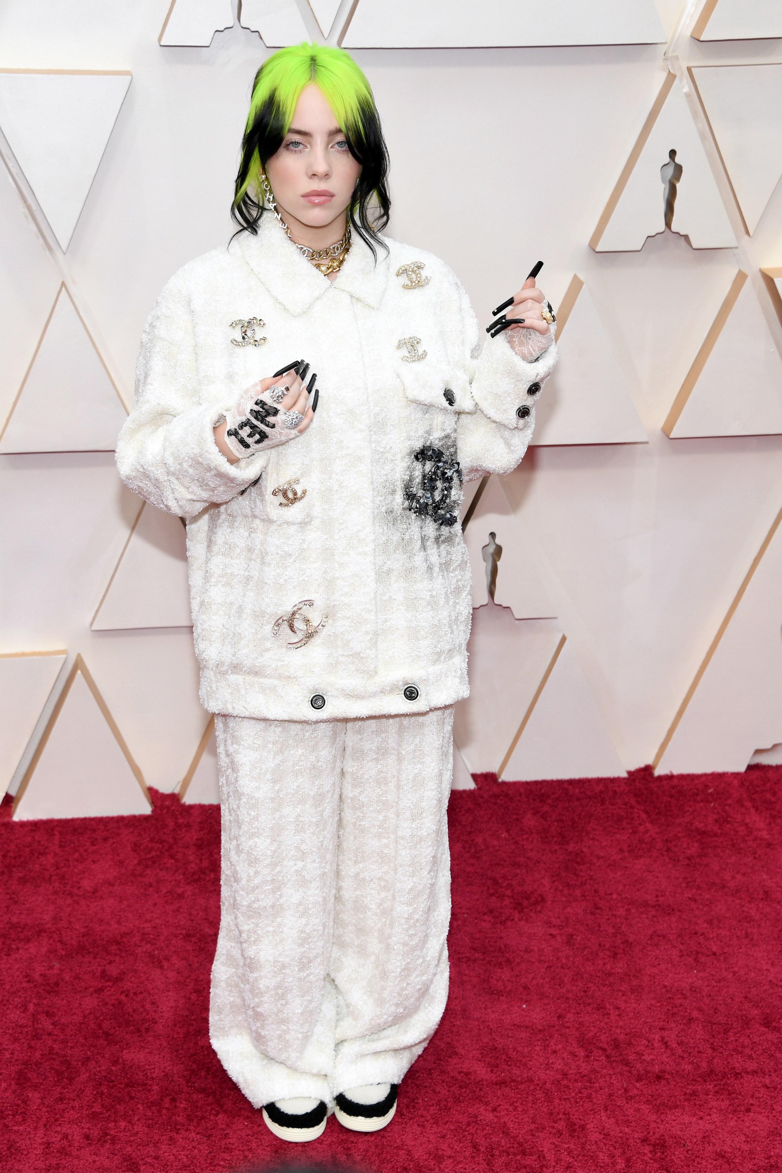 Zapatos Oscars 2020: Look Billie Elish en los Oscars 2020