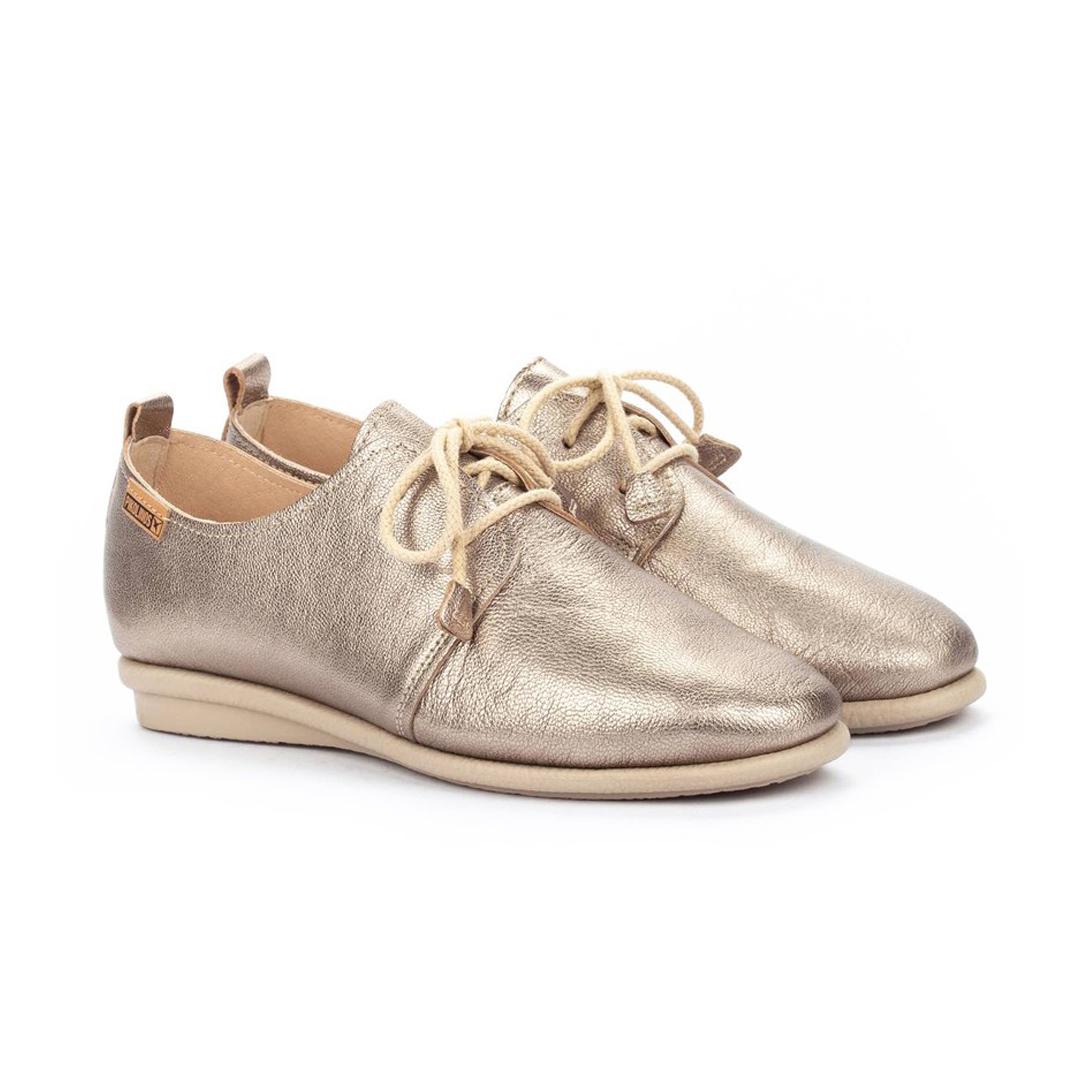 Zapatos metalizados Pikolinos Calabria W9K-4985CL