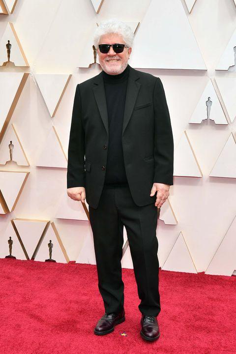 Zapatos Oscars 2020: Look de Pedro Almodóvar en la gala de los Oscars 2020