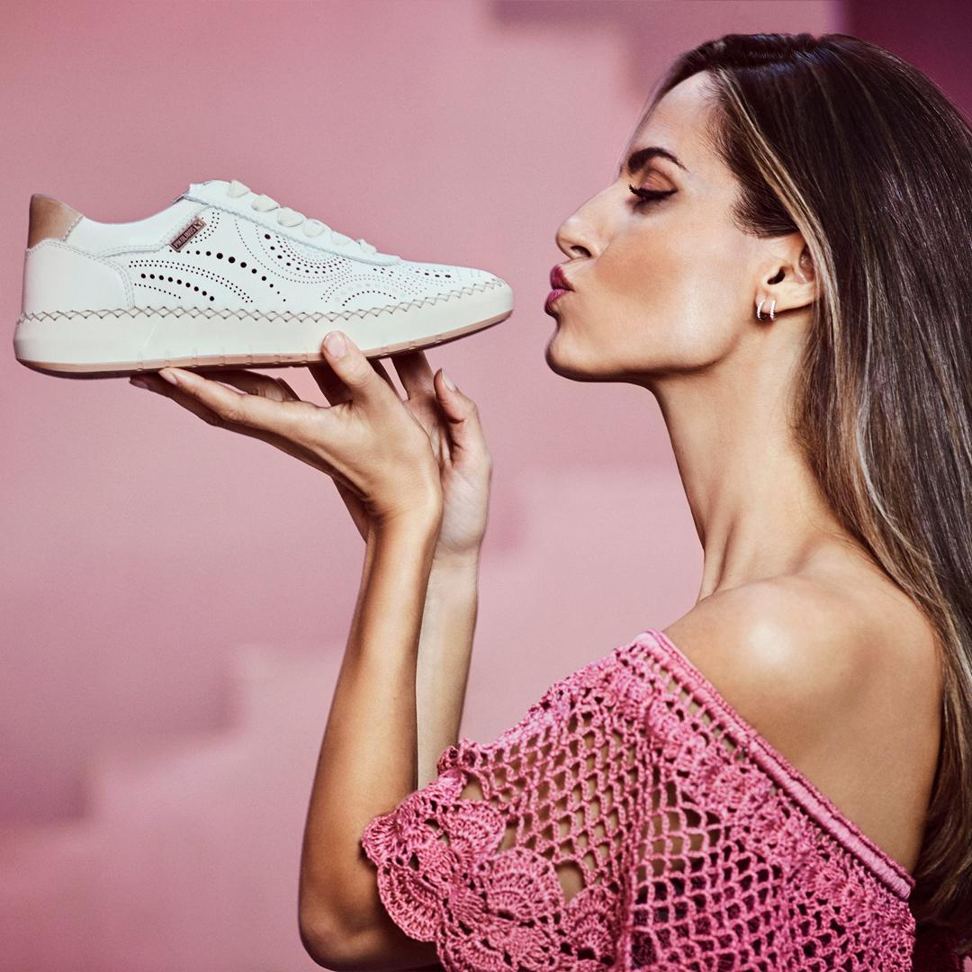 regalar zapatos a tu pareja Deportivas de piel Pikolinos Mesina W6B-6996