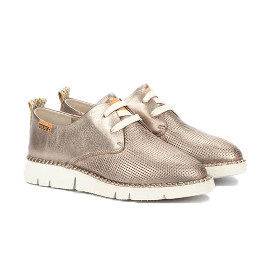 zapatos casual plateados Pikolinos Vera