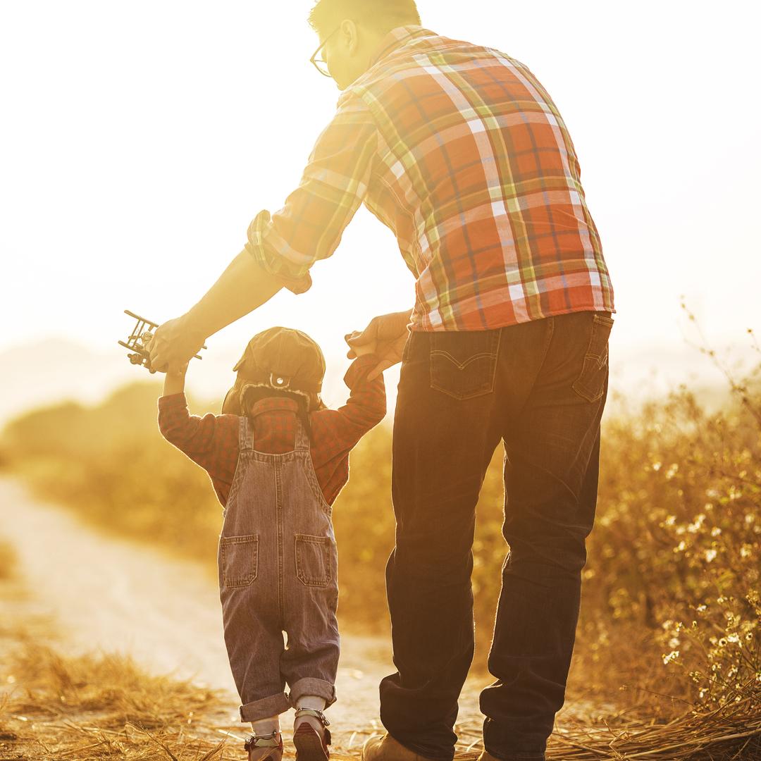 Día del padre, contigo en cada paso