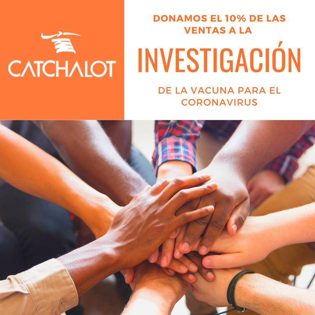 Zapaterias Catchalot dona el 10% de sus ventas para la investigación del coronavirus