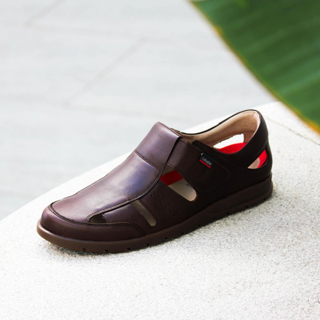 mejores sandalias para hombre piel Callaghan 42502-WODA