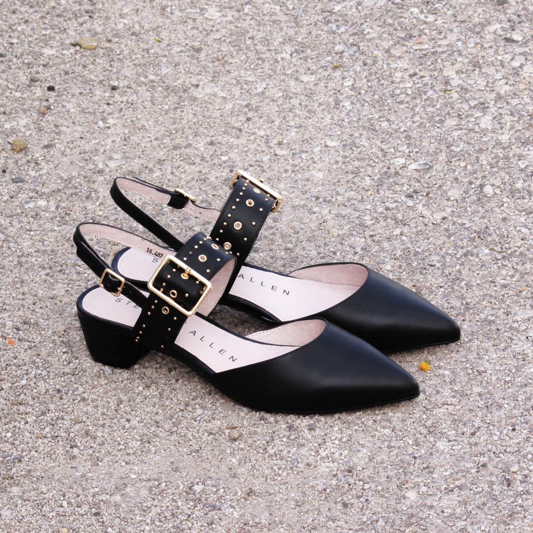 Zapatos con tacón bajo Stephen Allen K1943-L6