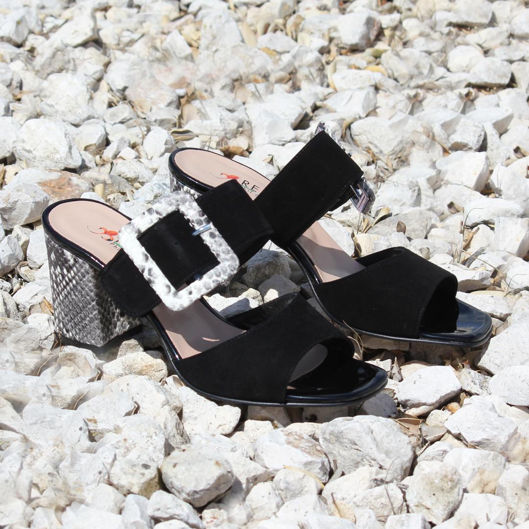 Zapatos con tacón cubano  Repo Phil Gatiér 47119