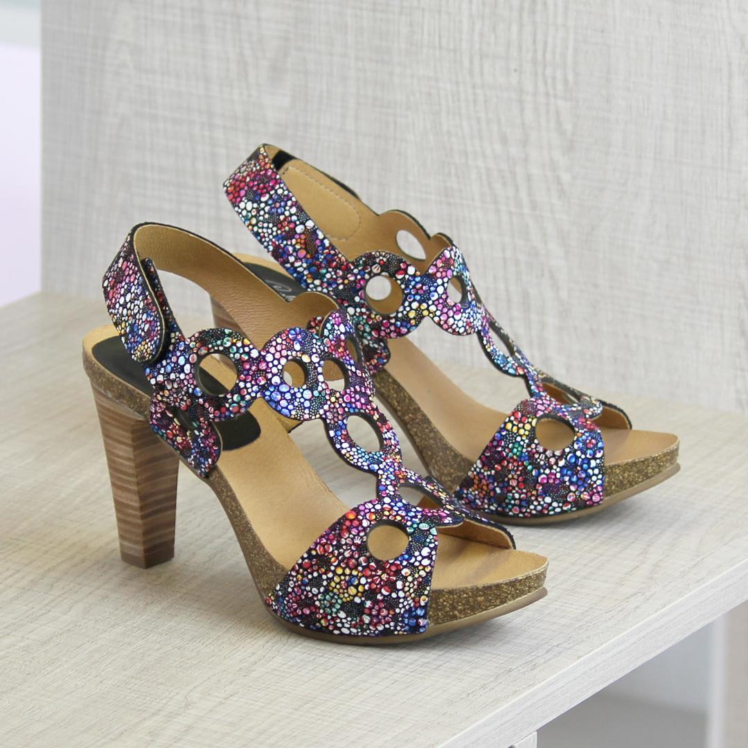 Zapatos con tacón cono Penélope 5704