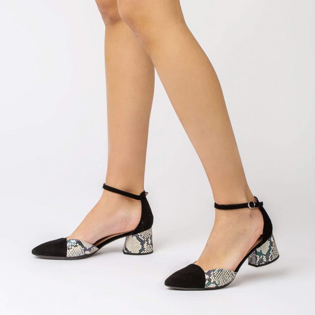 Zapatos de tacón medio Wonders I-8002