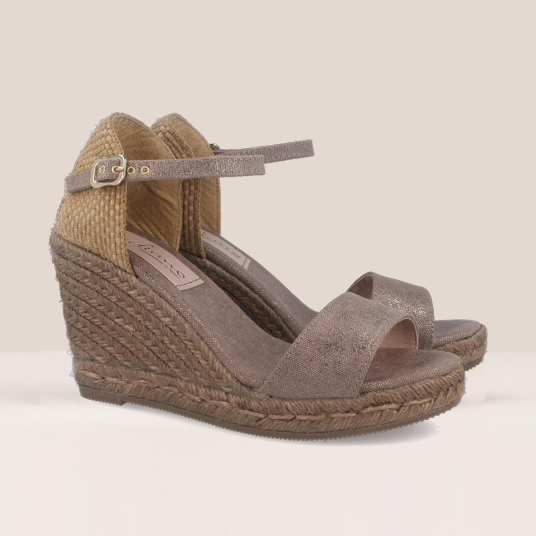 sandalias de esparto mujer gaimo hawo