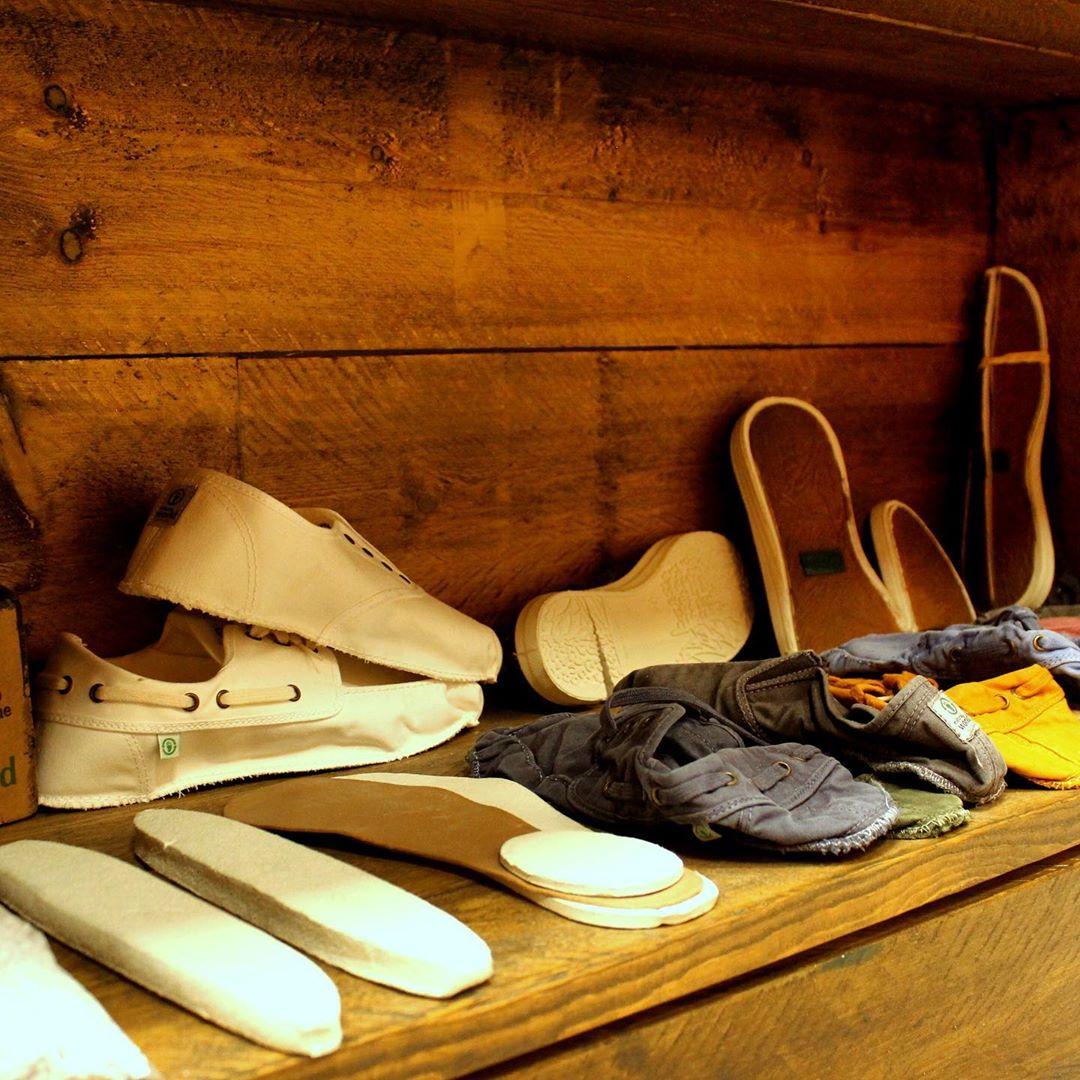 reinvención del calzado Natural word