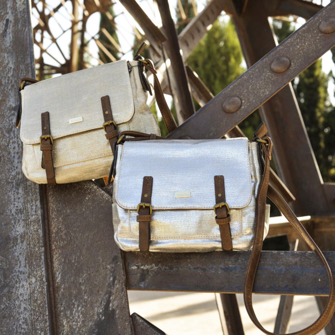 Bolsos de lona vintage Noco 13058