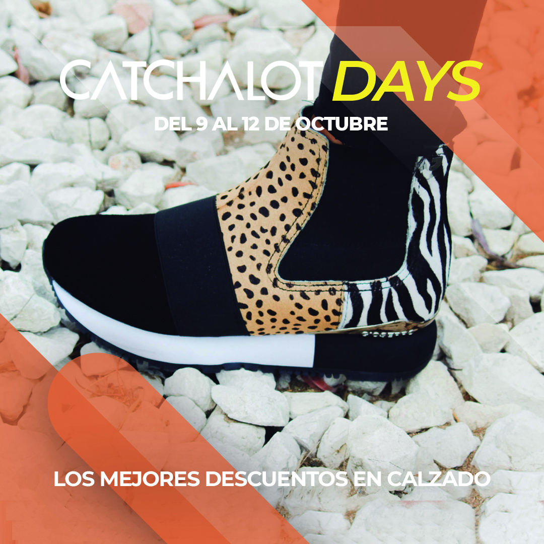 Catchalot days promociones en zapatos