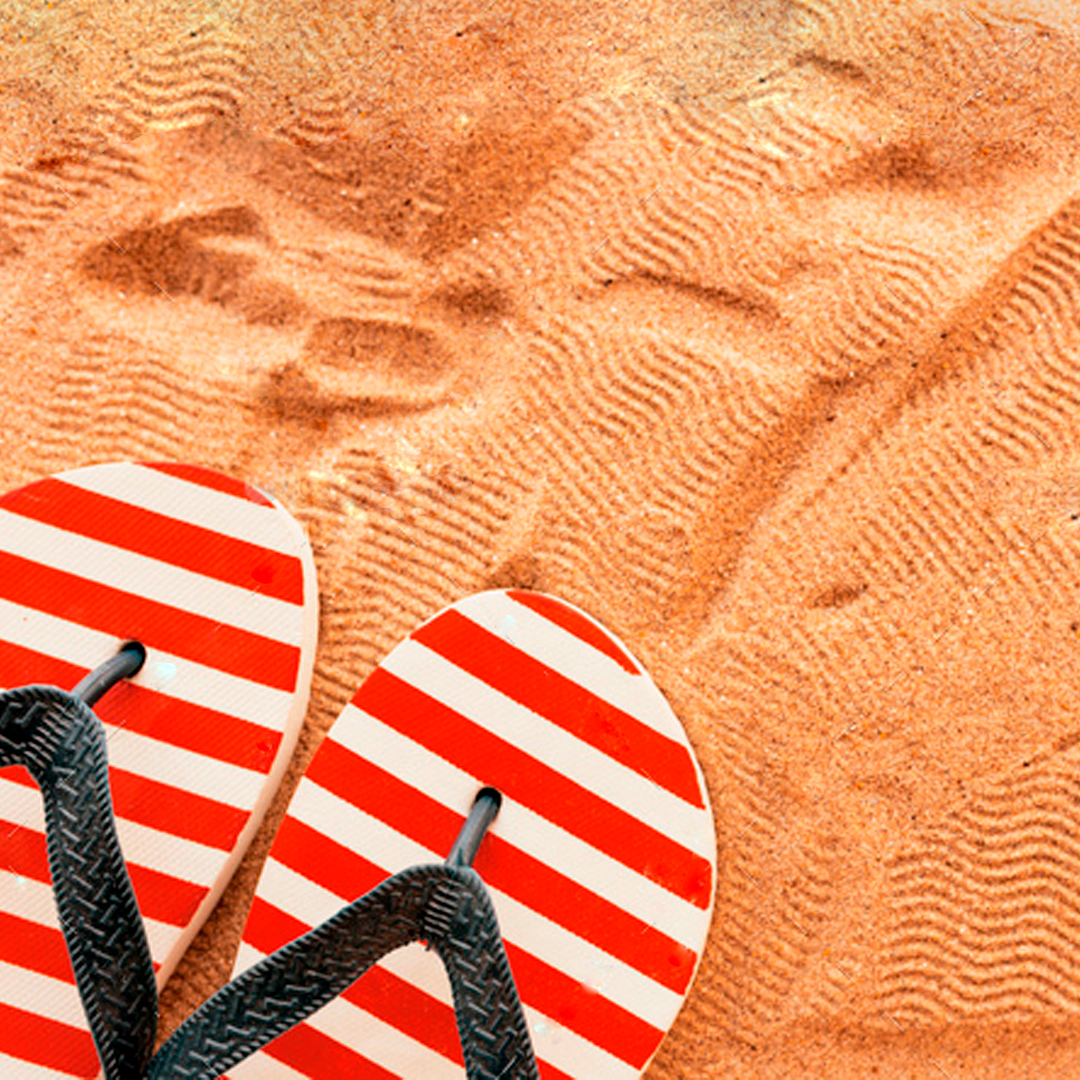 Chanclas de playa