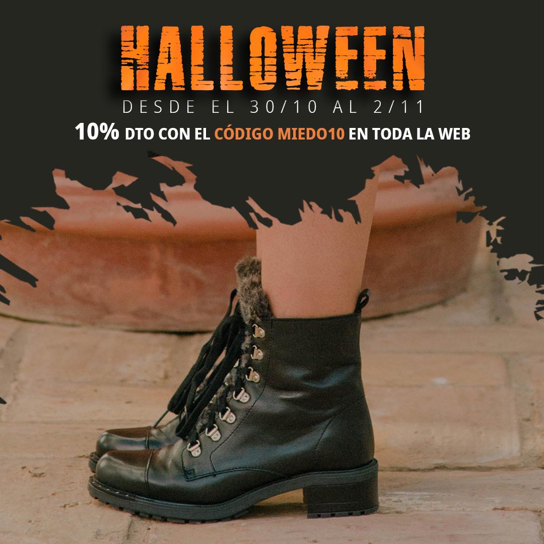 Descuentos zapatos halloween Botas Andares