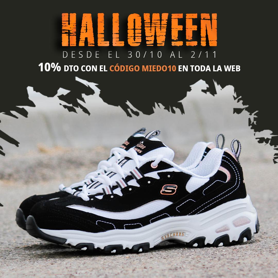 Descuentos zapatos Halloween Skechers D'Lites