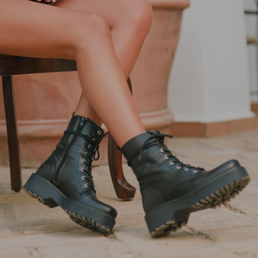 Tipos de botas militares Traveris