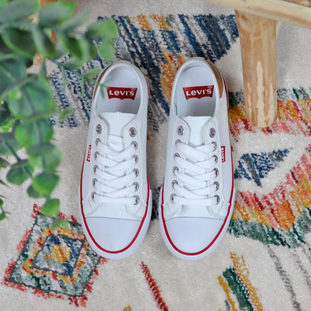 zapatillas de lona de mujer Levi's