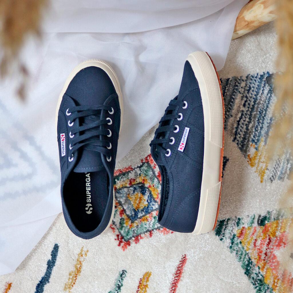 Zapatillas de lona de mujer Superga
