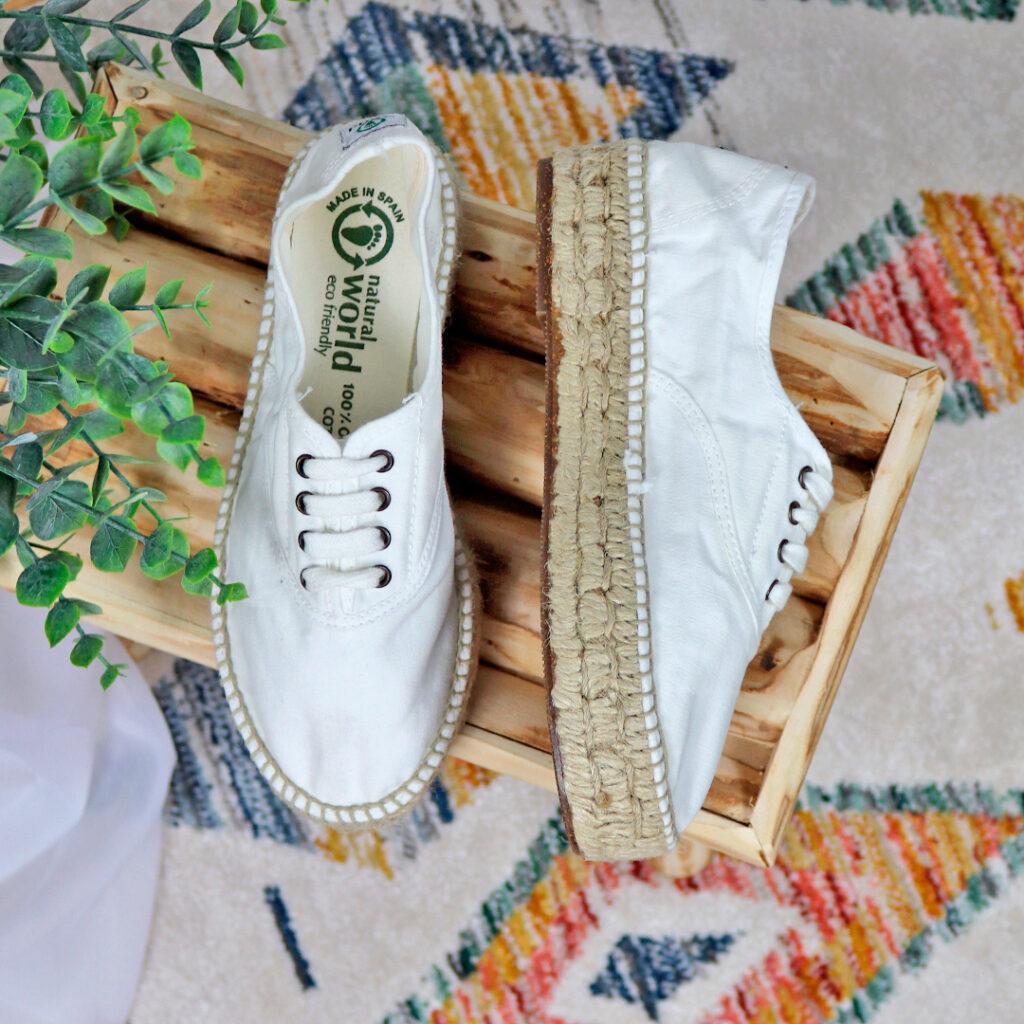 Zapatillas de lona de mujer Natural World Zen