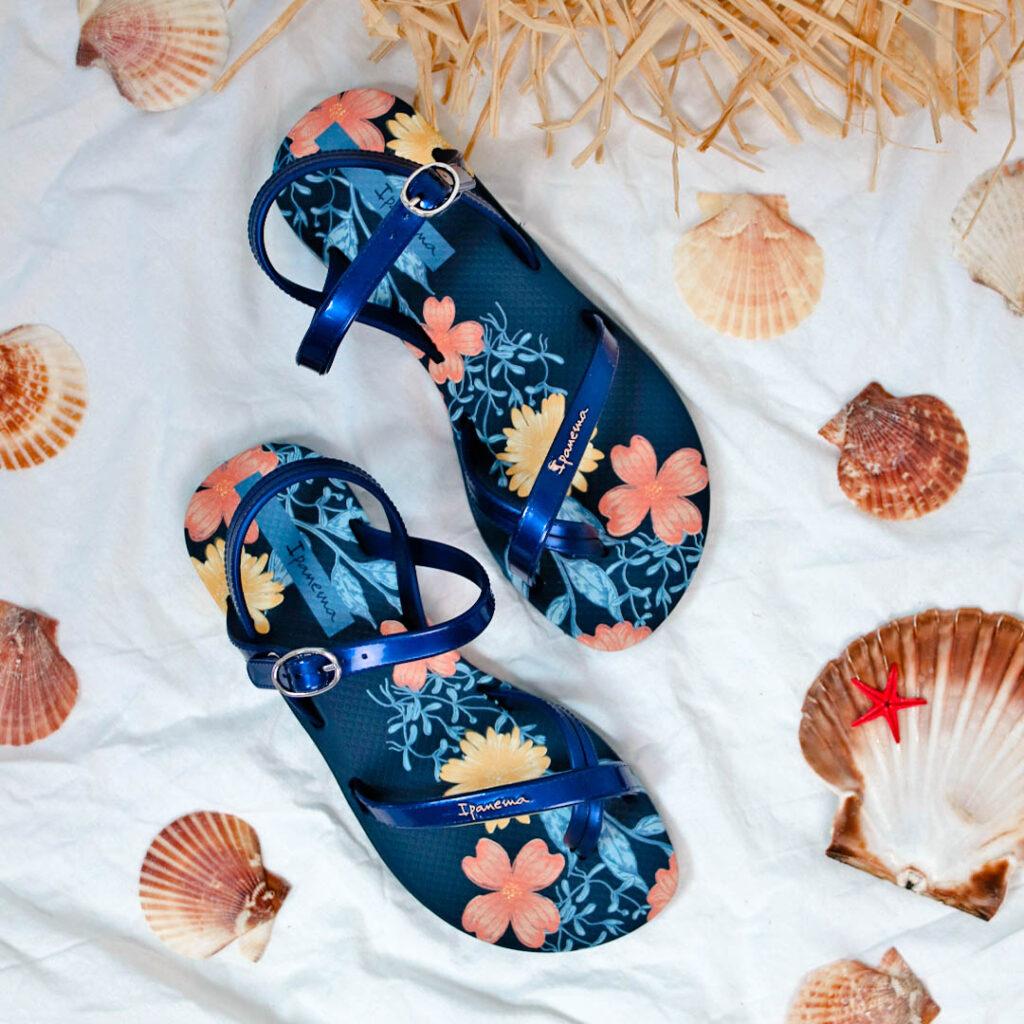 chanclas de piscina para niña Chanclas florales Ipanema IP 82767