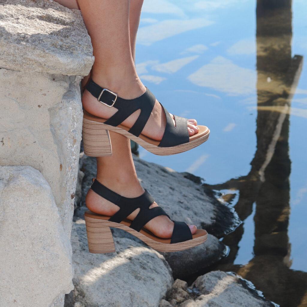 sandalias con tacón alto Paula Urban