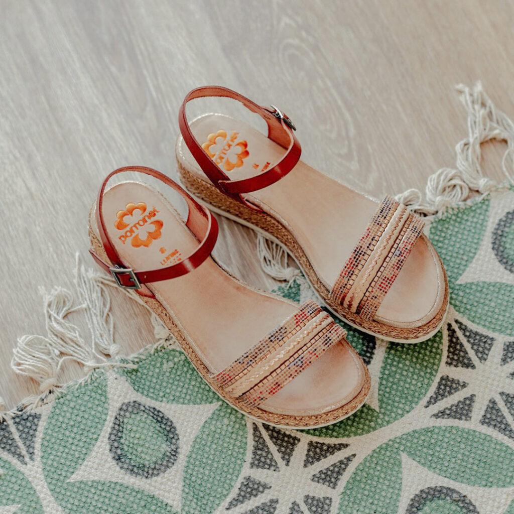 trucos para que no resbalen los pies en las sandalias Porronet