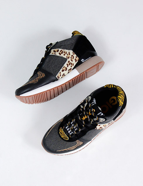 Gioseppo Kunia 62598 mix animal print sneaker