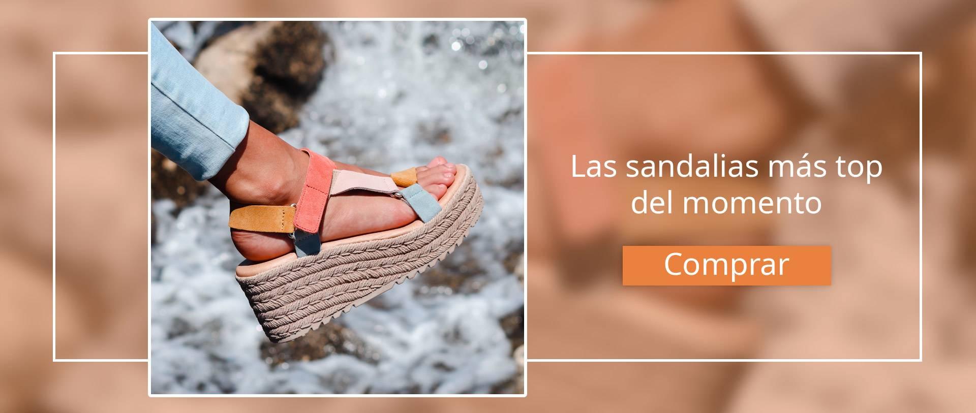 Sandalias con pulsera Andares